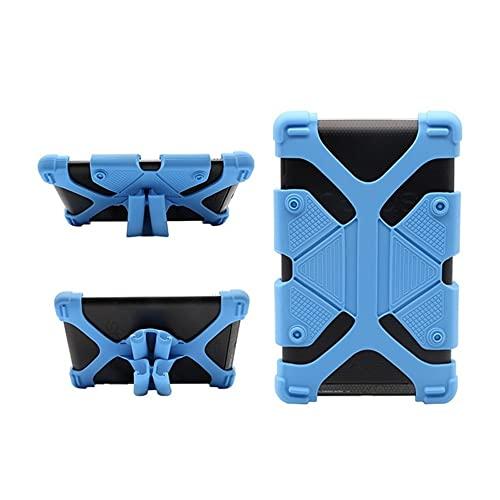 GHC PAD-hoesjes en covers For Alcatel ONE TOUCH Pixi 3 10 / 1T 10 A3 4G 10 10.1, Tablet Case Protective Cover Kids Drop Resistance Silicon Cover Case for Alcatel ONE TOUCH Pixi 3 10 (Kleur : Blue)