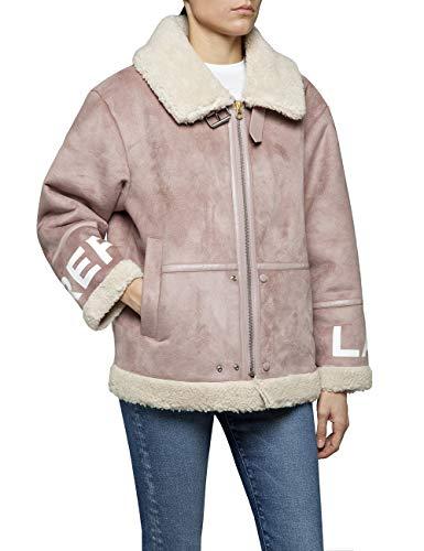 REPLAY W7533 .000.83506 Chaqueta, Rosa (Pink Salt 560), Medium para Mujer