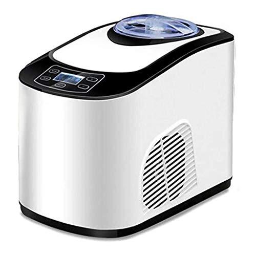 SHUILV Ice Maker Machine, automatisk glassmaskin med inbyggd frys hem, mjuk servera glassmaskin