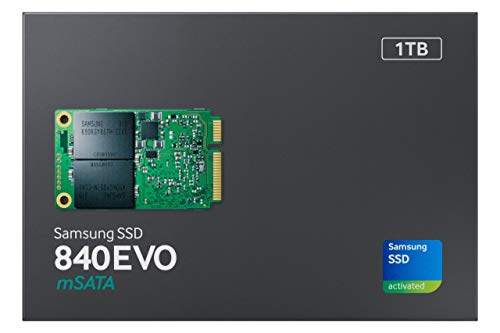 Samsung 840 EVO Series 120GB mSATA3 Solid State Drive, Retail (TLC) (Renewed)