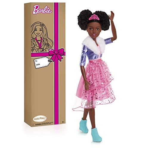 Barbie 28-Inch Best Fashion Friend Princess Adventure Doll, Black Hair