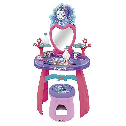 Tocador de Enchantimals con taburete y 10 accesorios (Smoby 320229)
