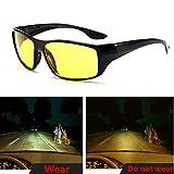 Best Night Vision Driving Glasses - visionrabbit Men's Night Vision Sunglasses Fashion Polarized Night Review