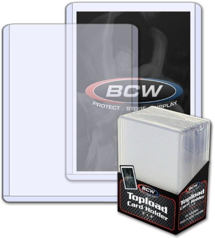 (100) BCW Standard Topload Card Holder Magic the Gathering Pokemon Yu-Gi-Oh  Sports Cards by BCW B00MPT9J8I Zu verkaufen  | Meistverkaufte weltweit
