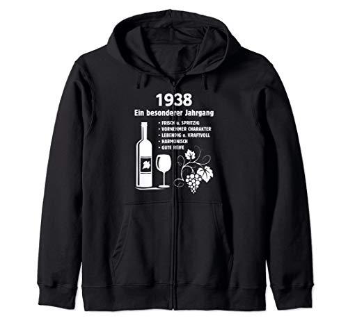 Geburtstag Geschenk Wein Vintage - Besonderer Jahrgang 1938 Kapuzenjacke