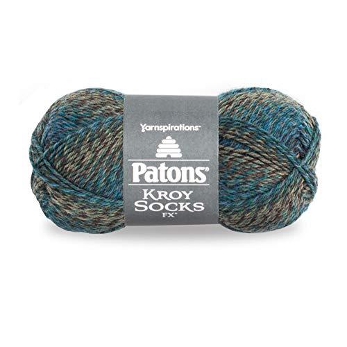 Patons 243457-57210 Kroy Socks FX Yarn, Cascade Colors