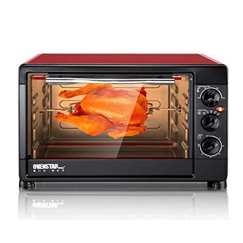 Mini 30L Ofen Multifunktionale Haushalts-Desktop-Dampf- und Backmaschine Temperatureinstellung 0-250 ° C und 60-Minuten-Timing