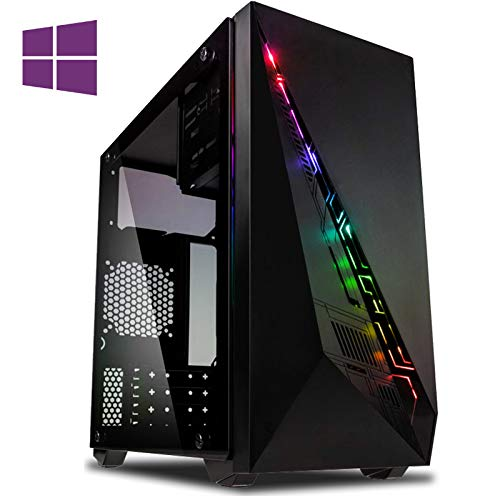 Vibox CX- 5 Gaming PC Computer with 2 Free Games, Windows 10 Pro OS (4.2GHz Intel i3 Quad-Core Processor, Nvidia GeForce GTX 1050 Ti Graphics Card, 8GB DDR4 2400MHz RAM, 1TB HDD)