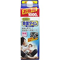 加湿器用除菌液 UYEKI 加湿器の除菌タイム 無香料 液体タイプ 1L