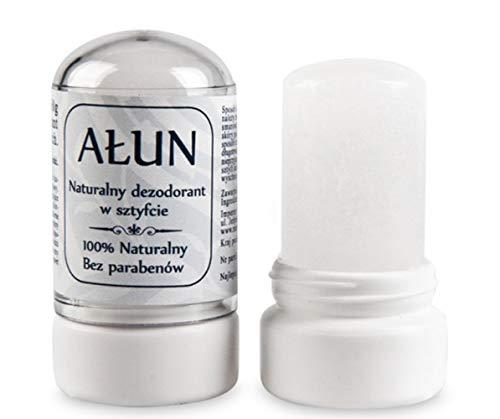 Antisudorifique, cyprès, 100% naturel, hypoallergénique, antibactérien, Alun - stick déodorant naturel 55g,