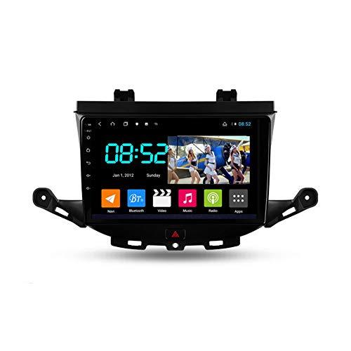 Autoradio Android 2 Din Con Bluetooth Per Auto 9'' IPS Touchscreen Wifi Auto Info Plug And Play Completo RCA Supporto Carautoplay/GPS/DAB+/OBDII Per Opel Astra K 2015-2019,Octa core,4G Wifi 6G+128G