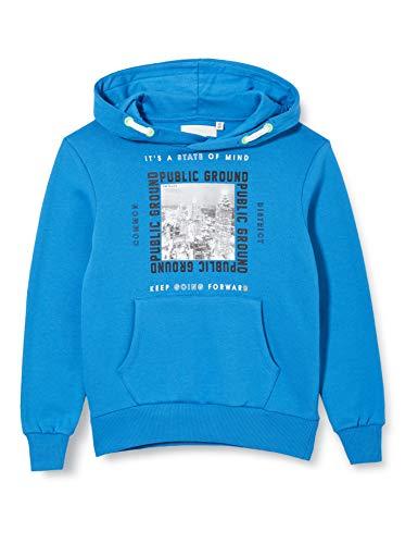 TOM TAILOR Jungen Sweatshirt T-Shirt, Strong Blue|Blue, 140