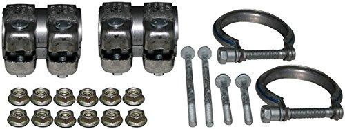 JP Brand 1621700710 Montagesatz, Schalldämpfer