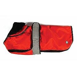 "2 In 1 Orange Dog Coat 70cm (28"") Accessories - Dog - Coats"