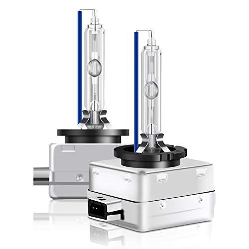 WinPower D1S 35W Xenon Ampoule Pk32d2 HID Xénon Phare Lampe décharge Remplacer Kit 12V Voiture 8000K Cool Blue Xtreme Vision (2 Ampoules)