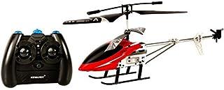 لعبة طائرة هليوكوبتر صغيرة - احمر واسود [HY 323]