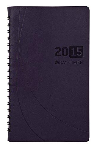 DayTimer Essentials Monthly Pocket-Size Business Planner 2015, Wirebound, 3.5 x 6.5 Inches Page Size, Blue (45205)