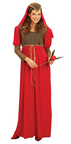 Bristol Novelty AC280 Julia Kostüm, Rot, UK 10-14