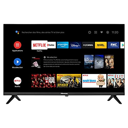 TV Hisense 40A5700FA 40  Full HD Smart Android