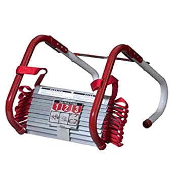 Kidde 468093 KL-2S Two-Story Fire Escape Ladder with Anti-Slip Rungs 13-Foot 2 Pack