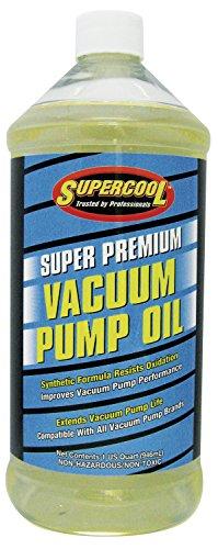 TSI Supercool Vacuum Pump Oil, Synthetic, 32 Oz.