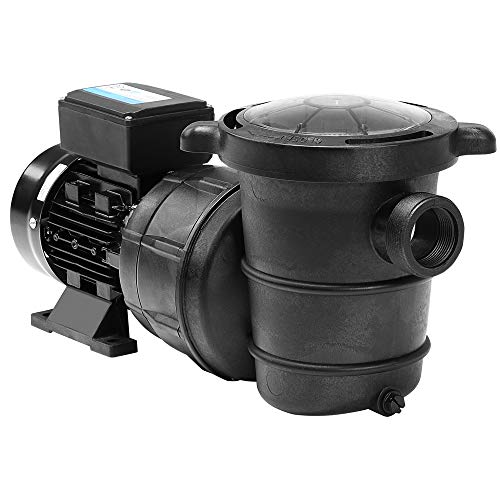 Monzana Filterpumpe 15.900 l/h mit Vorfilter Poolpumpe Umwälzpumpe Sandfilter Pool Pumpe 8,0m Förderhöhe Poolfilte