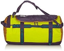 d8bb8c529537 The North Face Base camp medium 2015 duffle bag depth green venom yellow