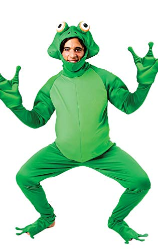 Disfraz Unisex Mameluco de Rana Verde Animal Gracioso