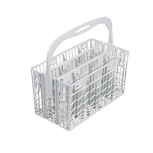 Besteckkorb Korb inklusive Griff dreiteilig teilbar Kunststoff weiß Spülmaschine Geschirrspüler Spülautomat ORIGINAL Gorenje 152950 passend gsv655