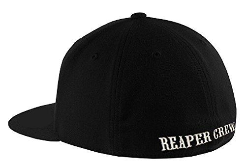 SOA Baseballkappe Sons of Anarchy Reaper Crew -  Schwarz -  L/XL