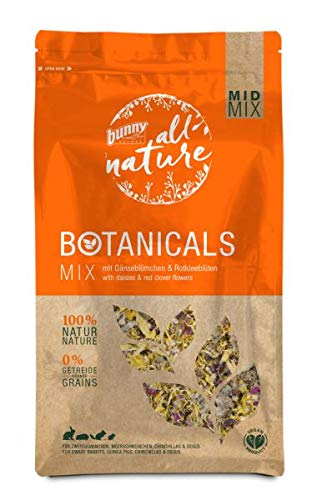 Bunny Nature Mid Mix Botanicals - Gänseblümchen & Rotklee - 120 g