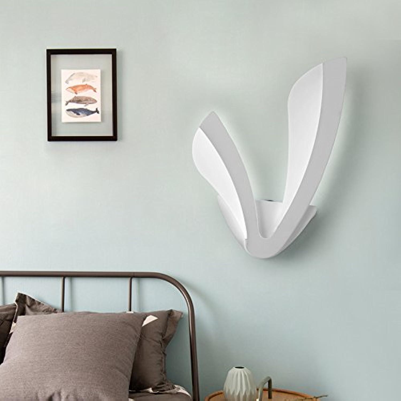 StiefelU LED Wandleuchte nach oben und unten Wandleuchten Kopf der LED-Wandleuchte Schlafzimmer treppen Flure,014 Lwenzahn 15 Watt warmes Licht