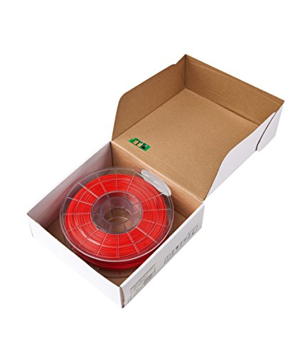 Sindoh 3DWOX Refill Filament PLA Red (Compatible with DP200, DP201, 3DWOX 1, 1X, 2X) , Spool , 1.75 millimeters Diameter (3DP200PRE-R)