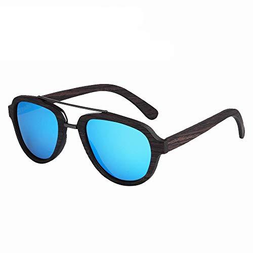 GSSTYJ handgemaakt bamboe en houten bril mode zonnebrillen bamboe en hout brilmontuur met metaal