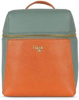 Baggit Women's Synthetic Sling Bag (Orange) (Lp Aslant)