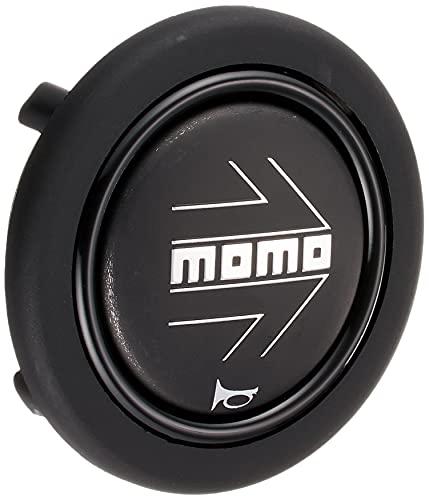MOMO(モモ) ホーンボタン 【アロー マットブラック】 ARROW MATT BLACK (センターリング無し) HB-17
