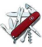 Victorinox Ecoline Couteau suisse 14 fonctions Croix relief Rouge mat 91 mm