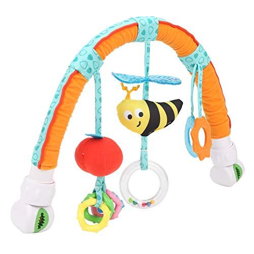 Lindo Juguete para Colgar, Cochecito Estable, portátil y Flexible, Juguete para Colgar, Suave para Salir para el bebé, para Uso General, para Uso Profesional(Bee Models (OPP Bag))