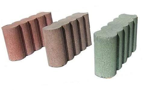 コンクリートブロック 花壇ブロック (2個入) (グリーン)