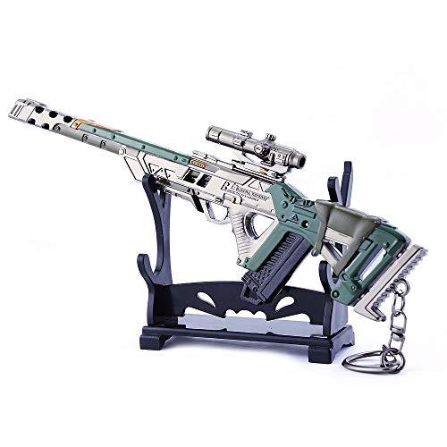 MANHUAN Apex Legends Juego 1/6 de Metal Pistola Fusil Modelo Tres en u