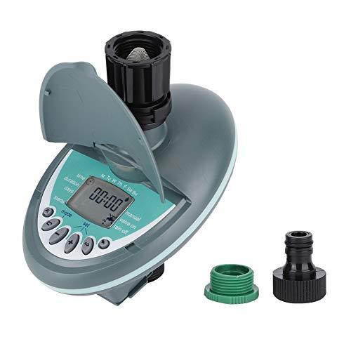 QITERSTAR Temporizador de riego, G3/4in Rosca Macho Hembra Controlador Inteligente de riego Controlador automático de riego con Temporizador de Agua