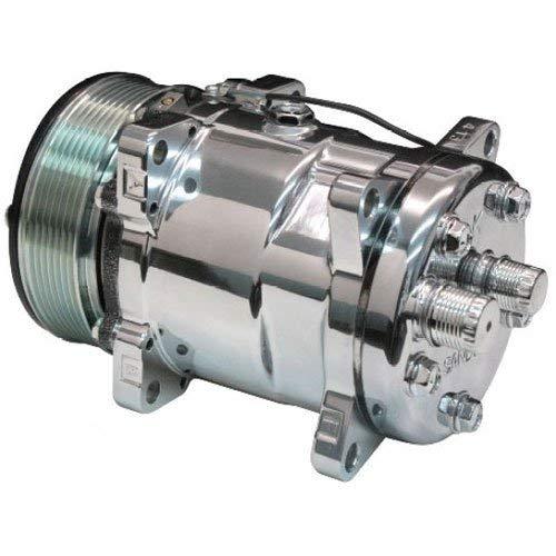 Vintage Air 047002-MUR Sanden SD 508 Rear Exit Compressor Pumps 8.4...
