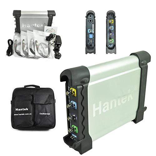 Wosontel Sonda Hantek DSO3064 4 canales 60MHz 200MSa/s basado en PC USB automotriz Diagnos PC Osciloscopio Generador