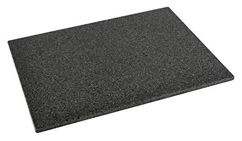DiConcetto Schneidebrett aus Granit   Steinplatte   Granitplatte (40 x 30 x 1, Granit Padang)