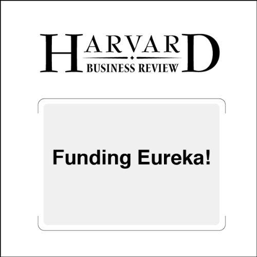 Funding Eureka! (Harvard Business Review) copertina