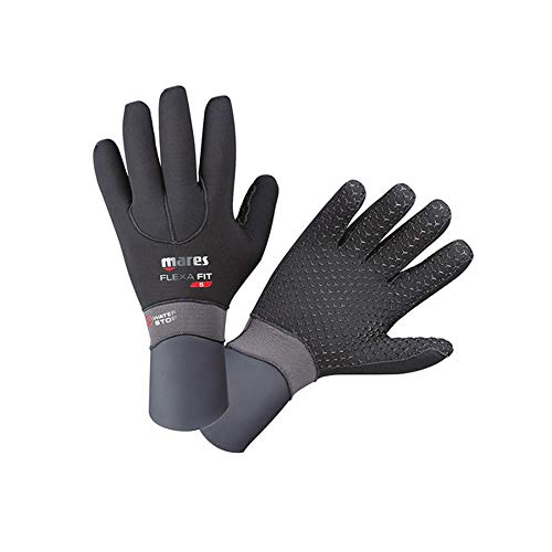 Mares Flexa Handschuhe, Schwarz, XXS