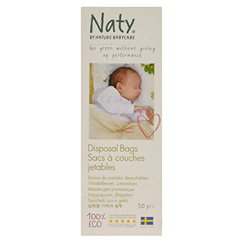 Naty by Nature Babycare Eco luiertas, 50 stuks, 3 stuks 2er-Packung