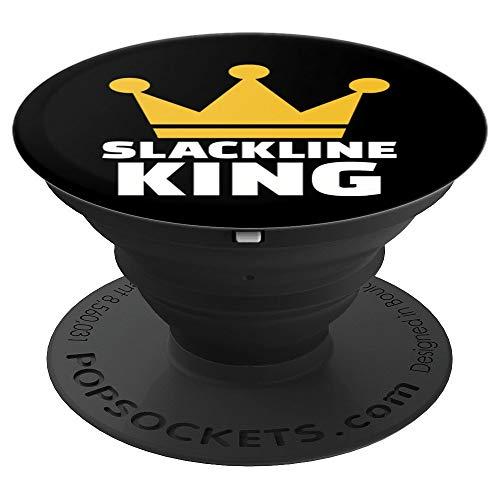 Slackline König - PopSockets Ausziehbarer Sockel und Griff für Smartphones und Tablets
