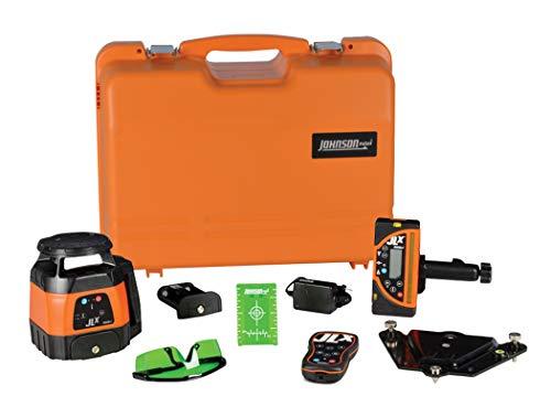 Johnson Level & Tool 40-6590I Horizontal/Vertical Tracking Rotary Laser Kit