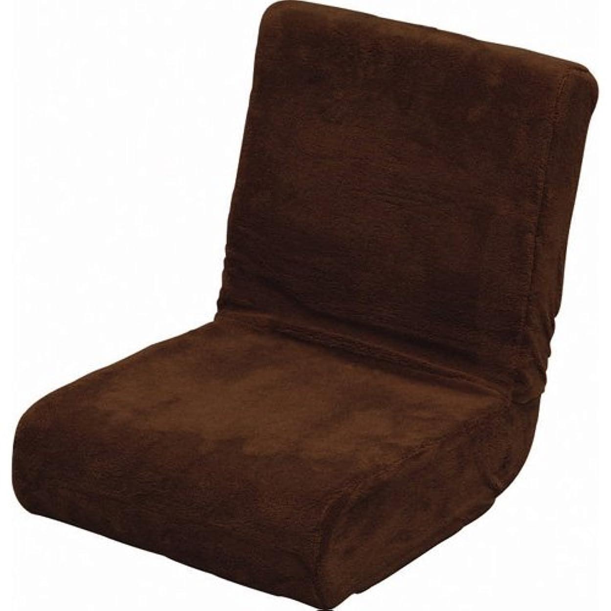 未知のボリューム融合アイリスオーヤマ 座椅子 & 枕 2way ふわふわ フロアチェア コンパクト 折りたたみ収納 ブラウン ZC-9